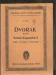 Streichquartett  as  dur - opus 105  für 2 violinen, viola und violoncell - náhled