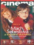 Cinema  12 / 2001 - náhled