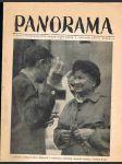 Časopis panorama ročník xxv. -číslo 4-6 - 20. květen 1950 - náhled