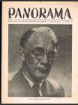 Časopis panorama ročník xxv. - číslo 10 -1. prosinec 1950 - náhled