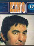Časopis kino č.17 - ročník xxviii. - srpen 1973 - náhled
