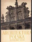 Architektura Polska - náhled