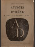 Antonín dvořák - kronika o jeho životě a díle - náhled