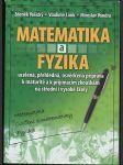 Matematika a fyzika - matematika, cvičení z matematiky, fyzika - náhled