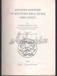 Ancient history of Western Asia, India, and Crete - náhled