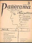 Časopis panorama ročník xx. -číslo 3 - duben 1942 - náhled