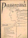 Časopis panorama ročník xx. -číslo 1 - leden 1942 - náhled