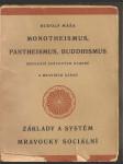 Monotheismus, pantheismus, budhismus - srovnání světových názorů a mravních zásad - náhled