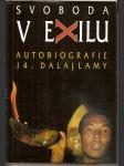 Svoboda v exilu - autobiografie 14, dalajlamy - náhled
