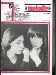 Časopis melodie č.5 /1977 - náhled
