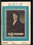 Kdo je - josef jungmann - náhled