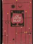 Balady - J. W. Goethe - náhled