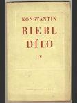 Dílo IV. - 1940 až 1950 - Konstantin Biebl - náhled