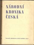Národní kronika česká II. (Do smrti krále Jana) - kol. autorů - náhled