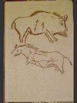 Mistři kamenného dláta (umění pravěkých lovců) - J. Svoboda - náhled