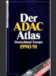 Der ADAC Atlas Deutschland Europa 1990/91 - náhled