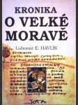 Kronika o Velké Moravě - náhled
