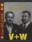 Když se řekne... V+W (Jiří Voskovec + Jan Werich) - náhled