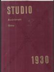 STUDIO ročník 1930-31 (Aventinská revue pro film a fotografii) - náhled