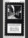 Vlastivědný sborník. Rok 1912-13. Seš. 4 (39), Hradec Králové - náhled