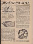Lidové noviny dětem  1939 - náhled
