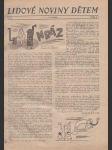 Lidové noviny dětem  1938 - náhled