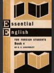 Essential English For Foreign Students (Book 4) - náhled