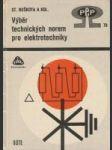 Výběr technických norem pro elektrotechniky - náhled