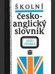 Školní česko - anglický slovník - náhled