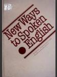 New Ways to Spoken Enlglish - náhled