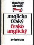 Lékařský slovník anglicko - český, česko - anglický - náhled