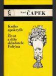 Kniha apokryfů / Život a dílo spisovatele Foltýna - náhled