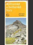 Rumunské  a  bulharské  hory  - průvodce  olympia - náhled
