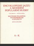 Encyklopedie jazzu a moderní populární hudby - část jmenná - náhled