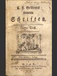 L.f. gellerts sammtliche schriften - vierter theil - náhled