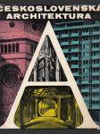 Československá architektura - náhled