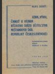 Vznik, vývoj, činnosť a význam Říšskeho svazu učitelstva měšťanských škol rep. československé - náhled