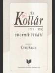 Ján Kollár zborník štúdií (1973 - 1993) - náhled