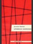 Učebnice harmonie - náhled