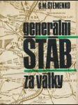 Generální štáb za války - náhled