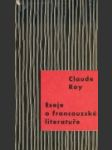 Eseje o francouzké literatuře - náhled