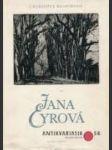 Jana Eyrová - náhled