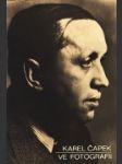 Karel Čapek vo fotografii - náhled