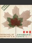 Javorové listy - náhled