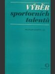 Výběr sportovních talentů - náhled