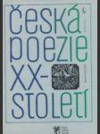 Česká poezie dvacáteho století - náhled
