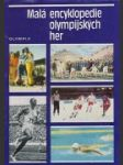 Malá encyklopedie olympijských her - náhled