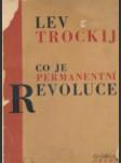 Co je permanentní revoluce? - náhled